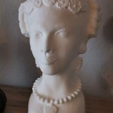 Picture of print of Female Sicilian Testa di Moro