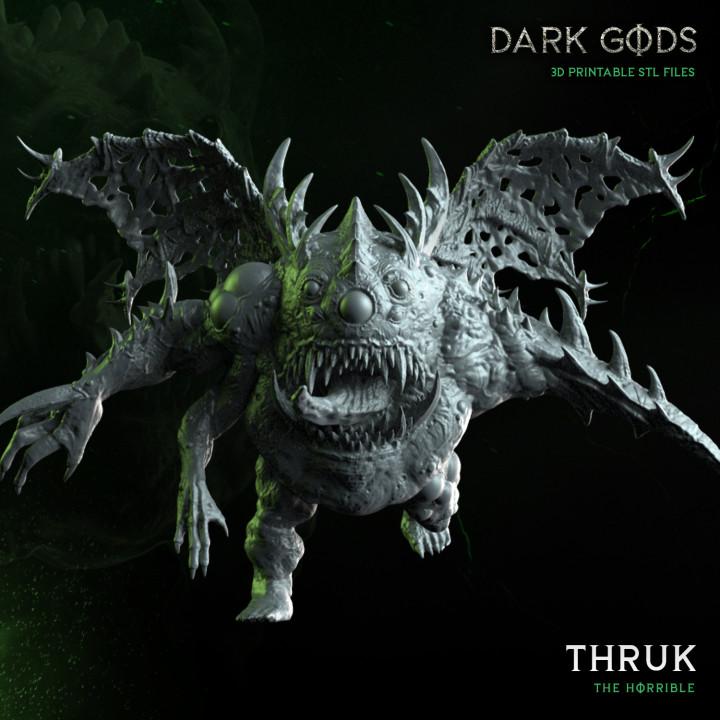 Thruk - Dark Gods's Cover