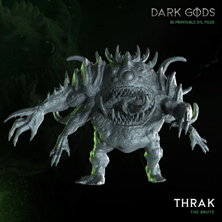 Thrak - Dark Gods's Cover