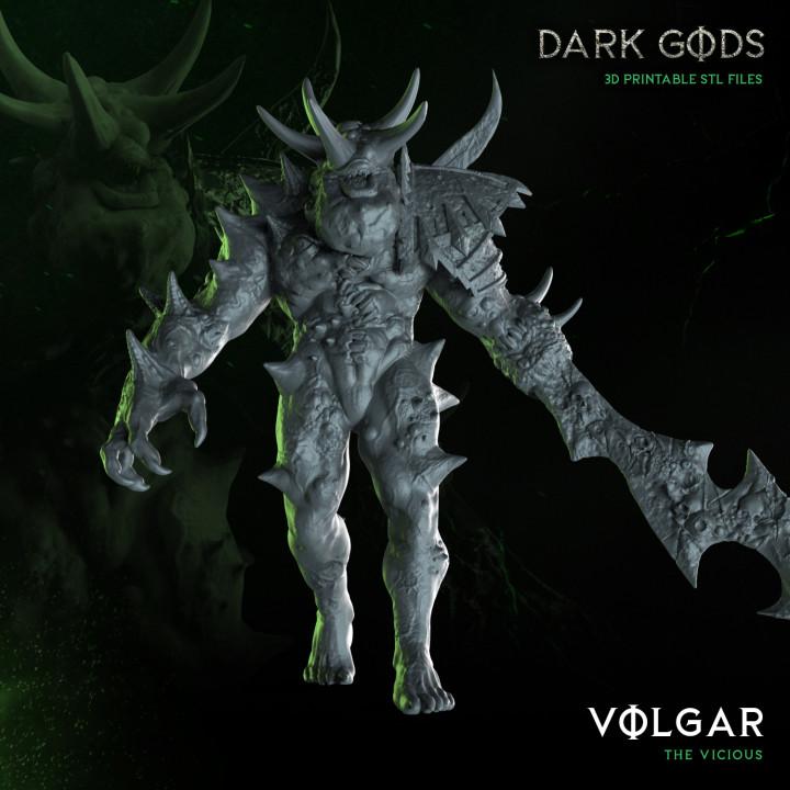 Volgar - Dark Gods's Cover