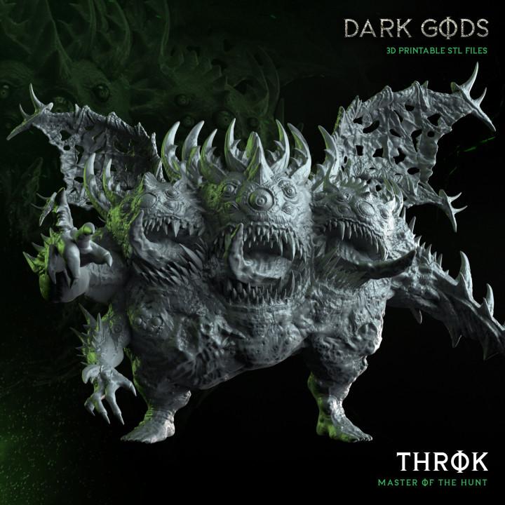 Throk - Dark Gods's Cover