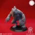 Slaed (Gray)  - Tabletop Miniature (Pre-Supported) image