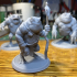 Slaed (Green)  - Tabletop Miniature (Pre-Supported) image