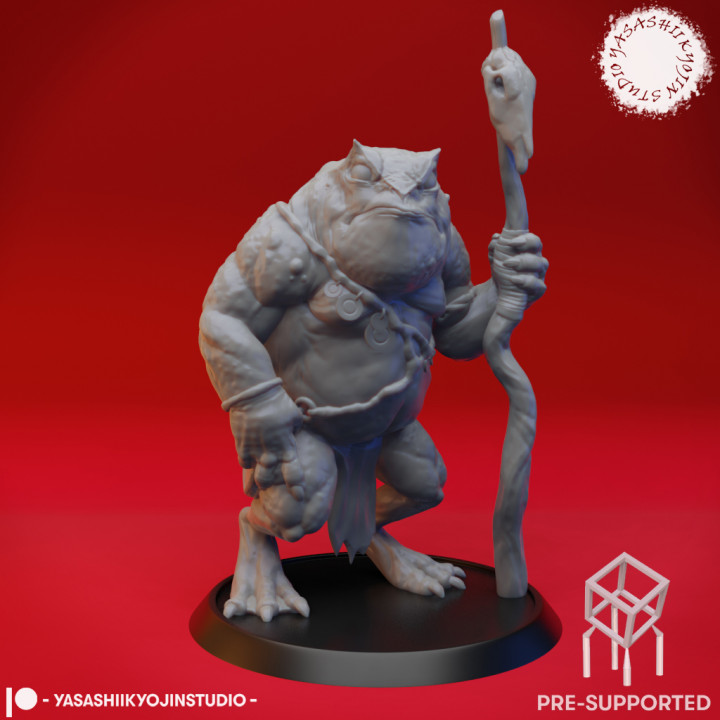 Slaed (Green)  - Tabletop Miniature (Pre-Supported)