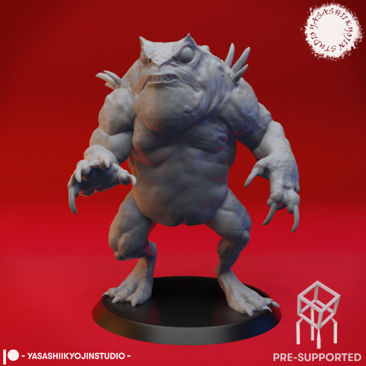 Slaed (Red)  - Tabletop Miniature (Pre-Supported)