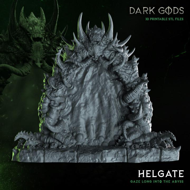 Helgate Portal - Dark Gods's Cover