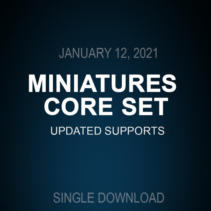 Updated supports Core set Jan 12, 2021's Cover