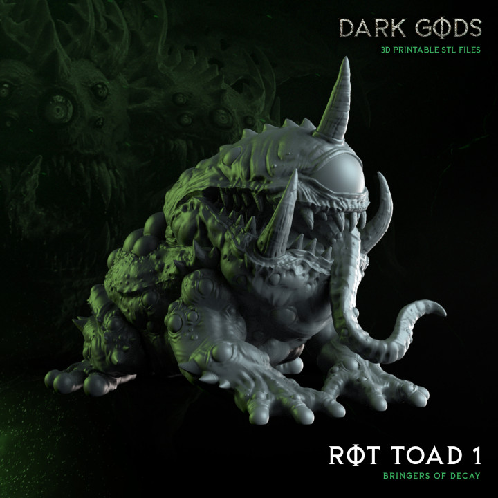 Rot Toad 1 - Dark Gods's Cover