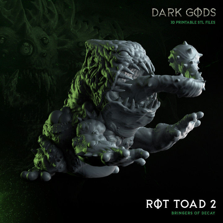 Rot Toad 2 - Dark Gods's Cover