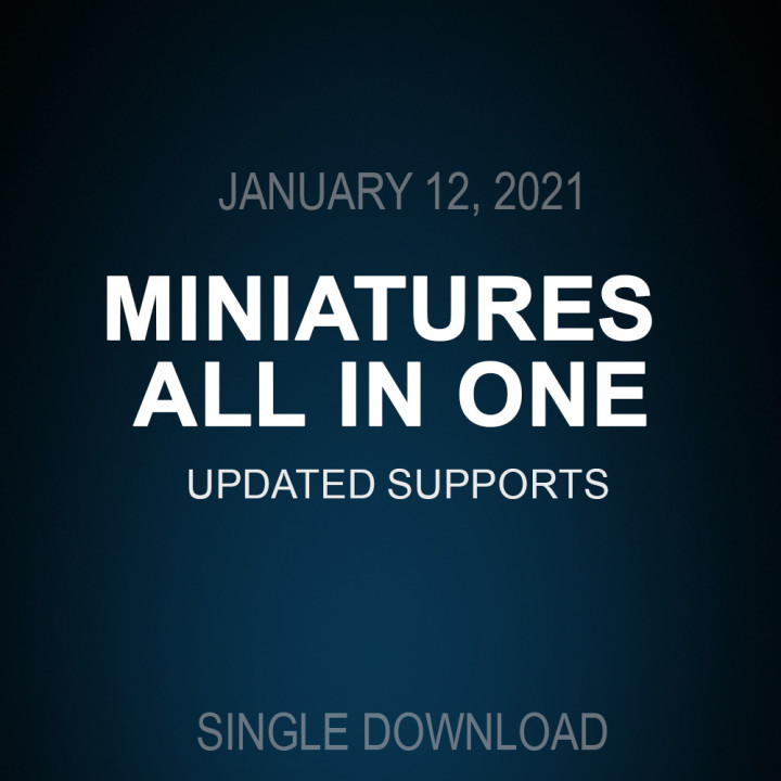 updated supports All in one January 12, 2021's Cover