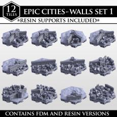 Hexton Hills Epic Cities Wall Set 01
