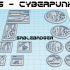 Mini Bases - Cyberpunk - Square and Round image