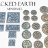 Mini Bases - Cracked Earth - Round/Square image