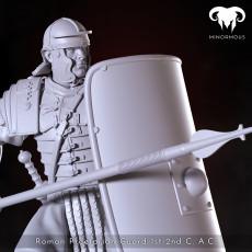Roman Praetorian Guard 1st-2nd C. A.C. in action