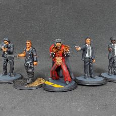 Picture of print of Modern Day Survivors Series 06 - PRE-SUPPORTED