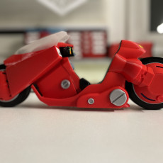 Picture of print of AKIRA motorcycle