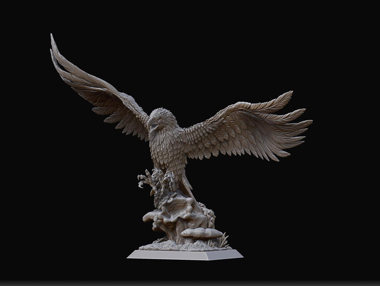 Figurines alternatives en 3D pour ME SBG: liste créateurs Resize-r-aguila-atacando