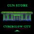 Cyberglow City Cyberpunk Gun Store OpenLOCK image