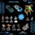 Cyberglow City Cyberpunk Miniatures image