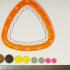 Triangular spiral drawing tool image