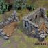 Ruined Town - Set of scenery - Free building image
