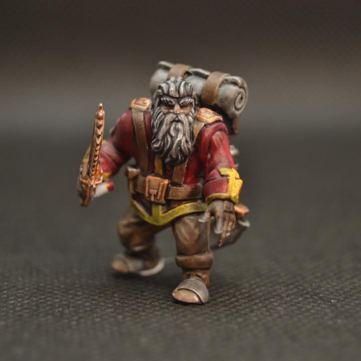 Free Private Dwarf Soldier