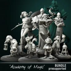 Bundle Academy of Magic pre-supported
