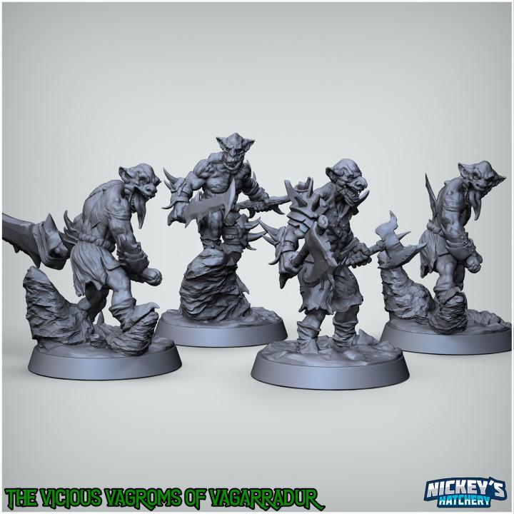 Vicious Vagroms of Vagarradur, Goblin Pack's Cover