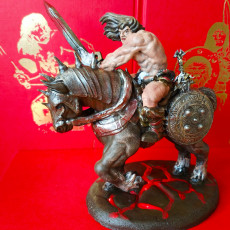 Picture of print of Oldhammer Barbarian Free Sample