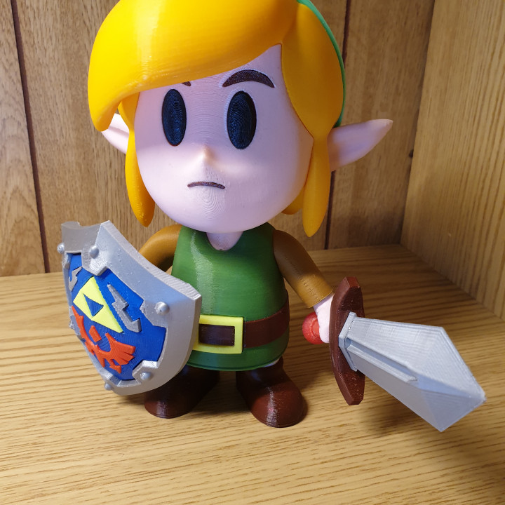 Link from Link's Awakening game- Multicolored