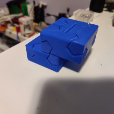 Picture of print of Tsugite Cube 2x2 Puzzle