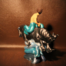 Picture of print of 'Havtyren' Sea Bull Figurine (1 of 2)