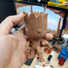 Picture of print of Groot - Gardians of the Galaxy - A pop Culture Inspired Model