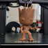 Groot - Gardians of the Galaxy - A pop Culture Inspired Model print image