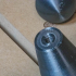 2 inch long threaded knob for 1/4-20 threads image
