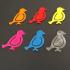paperclip bird image