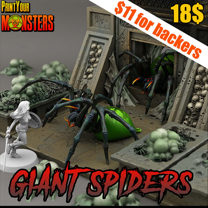 Giant Spiders Pack.'s Cover