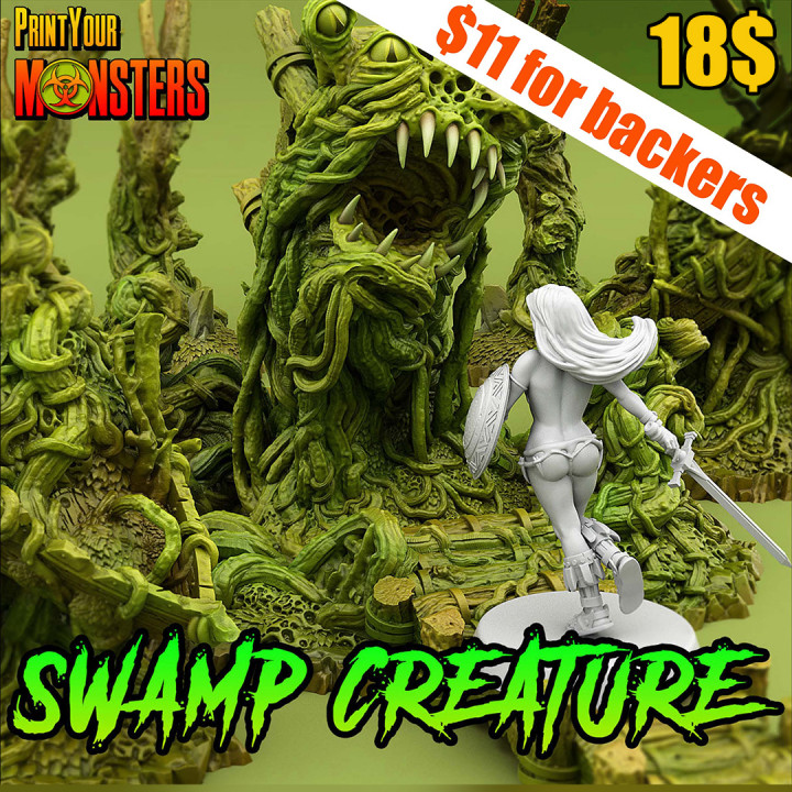 Swamp Creature Pack's Cover