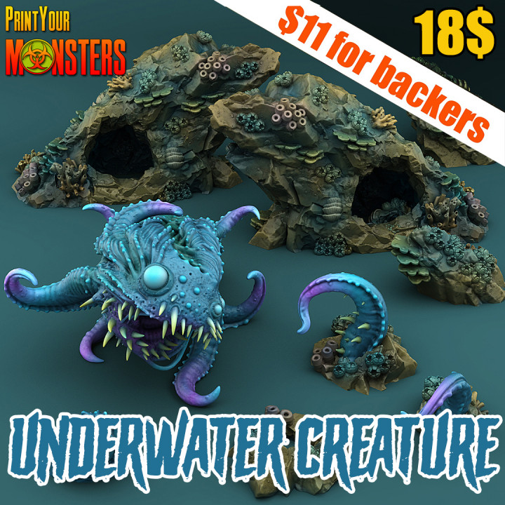 Underwater Creature Pack's Cover