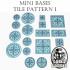 Mini Bases - Fancy Tile Pattern 1 - Round/Square image