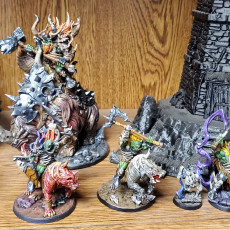 Picture of print of COMPLETE Frostmetal Clan (Presupported)