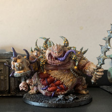 Picture of print of Gluttony the Bubonic One - Dark Gods