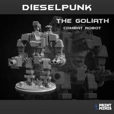 Goliath Combat Robot - Dieselpunk Collection