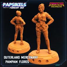 OUTERLAND PAMPAM MERCENARY FLORES