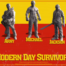 Modern Day Survivor Series 07 Bundle - PRE-SUPPORTED