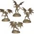 Harpagos Fury Demon Multi part model builder image