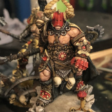 Picture of print of Shaakt the Entangler - The Chaos Barbarians of Q