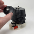Darth 2:  a 3D Printed Animated Darth Vader Helmet. image
