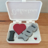 Valentines Day gift in a box image