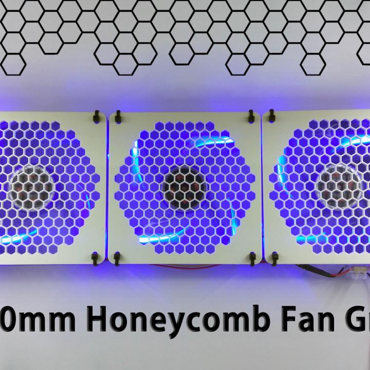120mm Honeycomb Fan Grill